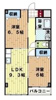 間取図/区画図:間取り図(反転タイプ)