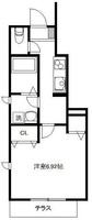 間取図/区画図:101号室間取り図