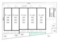 間取図/区画図:配置図