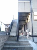 エントランス:共用階段