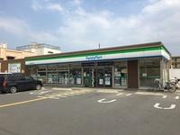 周辺環境:ファミリーマート川越砂新田4丁目店(490m)