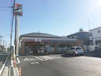 周辺環境:セブンイレブン川越岸町3丁目店