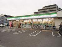 周辺環境:ファミリーマート川越砂新田店(40m)
