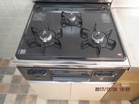 キッチン:ガスコンロ