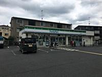 周辺環境:ファミリーマート川越熊野町店(300m)