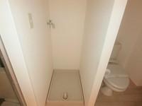 洗面室:室内洗濯機置き場