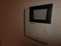 防犯設備:TVドアホン