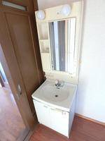 洗面室:洗面化粧台