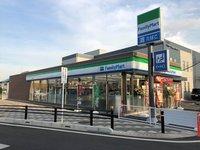 周辺環境:ファミリーマート新河岸駅前店